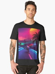 synthwave tees t-shirt