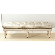 Safavieh Barney Antique Sage Oak Bench | Overstock.com Shopping - The Best Deals on Benches