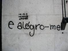 a vida escrita nas paredes