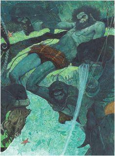Proteus, painting by Svetlin Vassilev. Image #189806
