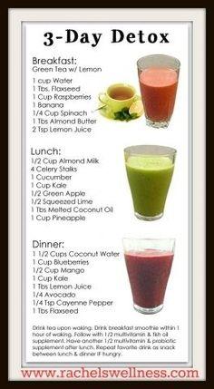 3 Day Juice Detox