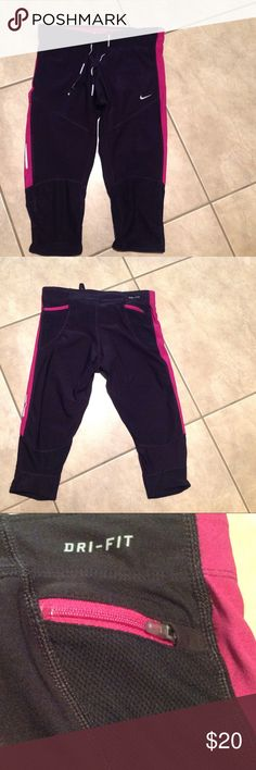 NIKE dri-fit Great condition with reflectors. Nike Pants