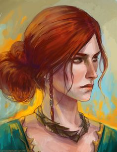 Triss Merigold by TanyaGreece on DeviantArt