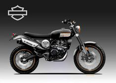 Motosketches: HARLEY DAVIDSON BAJA 301 Motorcycle Design, Scrambler, Harley Davidson, Vehicles, Rolling Stock, Vehicle