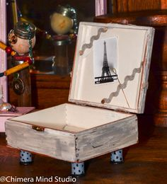 Paris on a whim upcycled box.