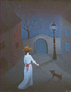 Eva Hutnerova Stage Decorations, Painting & Drawing, Surrealism, Folk Art, Opera, Nostalgia, Drawings, Ivy, Illustration
