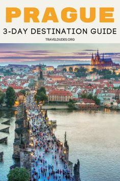 A complete 3-day travel itinerary to exploring the best of Prague. Best restaurants, bars and nightlife, top monuments, sights and attractions + insider tips for beating the crowds. Travel in the Czech Republic. | Travel Dudes Travel Community #Prague