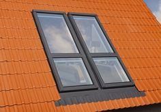Ideas : Appealing Windows Design can Add Impressive Balcony to Attic Bedrooms - Modern Minimalist Window Roof Design Ideas Roof Balcony, Balcony Window, Attic Window, Roof Window, Patio Roof, Attic Playroom, Attic Loft, Attic Stairs, Attic Rooms
