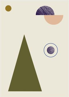 This minimalistic geometry poster will stand out on any wall. Hang it in Ferm Living's large wooden frames to make a unique decoration. Printed on 150 gr. uncoated recycled paper. Features - Country o