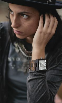 Wood watches from Garwood Teen Style, My Style, Body Adornment, Wooden Watch, California Style, Selfish, Make Time, Teen Fashion, Bohemian Style