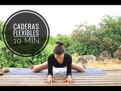 Abrirse de piernas y caderas en 10 min   Yoga para flexibilidad con Elena Malova - YouTube