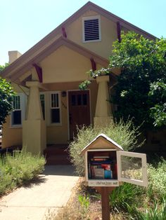Lauren Gray. Have I gushed about how much I love Sacramento yet? I've lived here two years and just discovered all these Little Free Libraries cropping up around town. With endless sunshine and the temp hovering around 75, I think I've found paradise.
