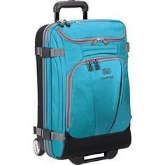 "TripAdvisor 21"" Wheeled Duffel (Turquoise) -- Check this awesome product by going to the link at the image."