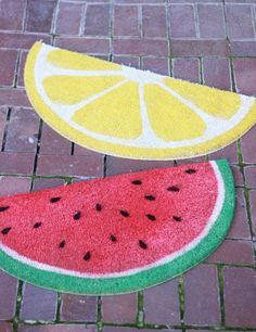 Plus de 1000 id es propos de projet diy completement pasteque sur pinterest past que fruit Personnaliser son tapis