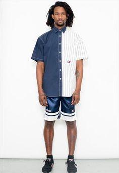 90's Vintage Tommy Hilfiger Short Sleeved Shirt