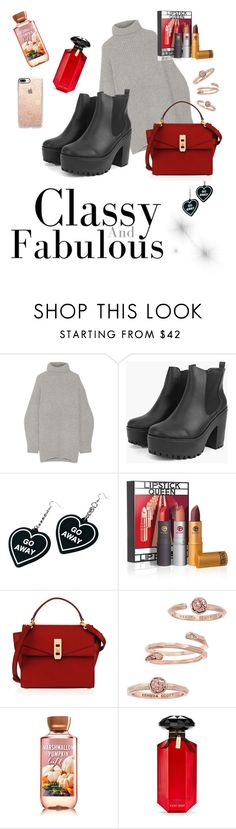 """""""Koko."""" by laeyth on Polyvore featuring mode, Acne Studios, Witch Worldwide, Lipstick Queen, Henri Bendel, Kendra Scott, Victoria's Secret et Casetify"""