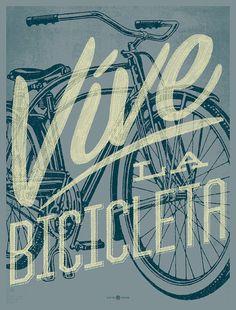 vive la bicicleta