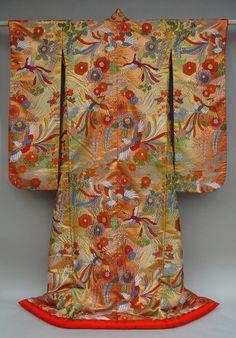Uchikake, Hand Woven Silk  & Tsujigahana Dye Technique