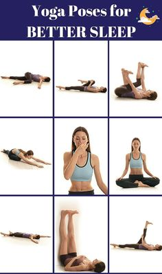 Insomnia Remedies PIN IT: The Insomniac's Yoga Routine. If you have trouble falling asleep, try these 9 yoga poses for deeper, more restful sleep tonight. These moves will calm you down so much, you'll be asleep before you realize. Insomnia Causes, Insomnia Remedies, Sleep Remedies, Sleep Yoga, Bedtime Yoga, Can't Sleep, How To Sleep Faster, How To Get Sleep, Sleep Better