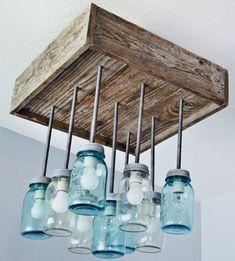 Afbeeldingsresultaat voor weckpot lamp maken #LampMaken