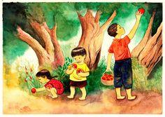 siapa menanam bibit yang baik, ia akan memanen buah yang baik juga