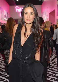 Inside the Diane von Furstenberg: Journey of a Dress Opening Party - Demi Moore from #InStyle