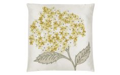 Hydrangea Embroidered Cushion at Laura Ashley