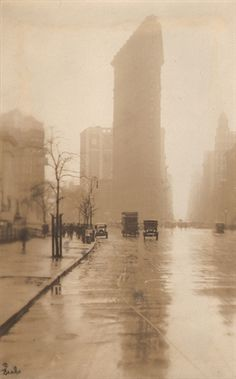 Flat Iron, Fifth Avenue by Jessie Tarbox Beals