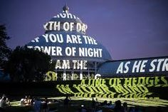 For Aarhus, a new public artwork by American artist Jenny Holzer debuts February 25 in city's Bispetorv - D UNKNOWN - Controlled Chaos Jenny Holzer, Aarhus, Night, Image, Graphics, Artists, Google Search, Space, Art