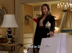 Carrie Bradshaw: The 'I Fell in Dior' Edition Sarah Jessica, Jessica Parker, City Quotes, Mood Quotes, Fashion Mode, Look Fashion, Daily Fashion, Street Fashion, Quote Aesthetic