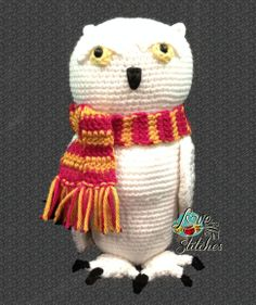 Owl Familiar! Pattern by me - Love To Be In Stitches