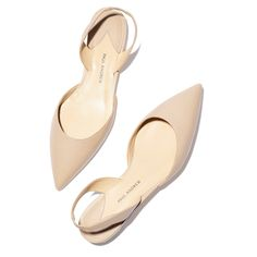 As far as fancy flats go, these Paul Andrew x goop nude slingbacks are actually quite understated, allowing the rest of your outfit to shine.