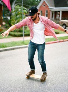 Baseball cap outfit for men ⋆ Men's Fashion Blog - TheUnstitchd.com