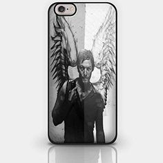 Daryl Dixon Black and White Angel Wings for Iphone and Samsung Galaxy Case (iPhone 5/5s Black)