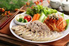 보쌈 (Bossam) Korean Pork Belly Dish. My fave