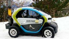 #Autopartage électrique : des Twizy pour la station de ski de l'Alpe d'Huez