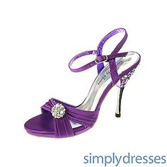 Versailles Purple Open Toe Heel at SimplyDresses.com 68.00$