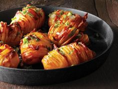Get Bacon Hasselback Potatoes Recipe from Food Network