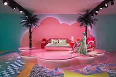 Camp and Kitsch at Home: The Met Gala 2019 Theme in Furniture - The Bedroom Area at the Versace Home Collection launch during Salone del Mobile 2019 Versace Home, Boutique Interior, Milan Furniture, Furniture Design, Pipe Furniture, Rustic Furniture, Outdoor Furniture, Retro Interior Design, Home Collections