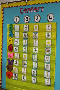 Kindergarten Smiles: Centers Board