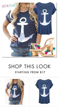 """""""34 stayingsummer"""" by mersudin-becirovic-1 ❤ liked on Polyvore"""