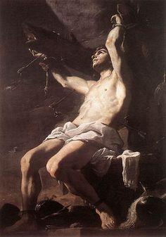 1660 oil on canvas Saint Sebastian by Mattia Preti San Sebastian Martir, Baroque Art, Italian Baroque, Baroque Painting, Italian Art, Beauty In Art, Male Beauty, Renaissance Artists, European Paintings