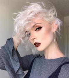 Brief Encounter With Platinum Blonde >> 659 Best Platinum Hair Images In 2019 Pixie Cut Hair Ideas
