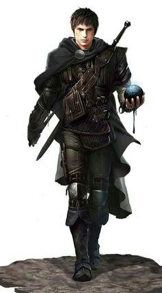 """Ludovico, Humano feiticeiro 5, guerreiro 2, arcanamaca de suel 3. CN """"A loucura não pode aflingir uma mente incendiada pela genialidade."""""""
