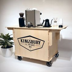 The 801 — Simple Display Cart Mobile Coffee Cart, Mobile Coffee Shop, Coffee Bar Home, Coffee Store, Coffee Food Truck, Cafe Display, Food Cart Design, Coffee Industry, Portable Bar