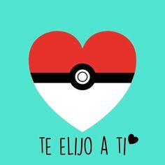 I choose you Pokemon, Pikachu, Love Is Sweet, Cute Love, Images Kawaii, Elf, Mr Wonderful, Love Phrases, Love Images