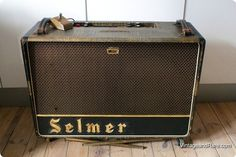 1964 Selmer UK Zodiac 50 Twin in croc skin. In amazing condition. All original! Have just had a major clean up. Sounds and plays absolutely fantastic. Including the super rare original amp stands.