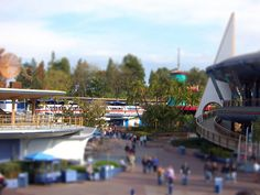 Tomorrowland tilt shift | Flickr - Photo Sharing!