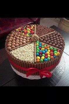 Chocolate birthday cake heaven!
