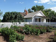 Ranch House Flower Garden at DBG at Chatfield